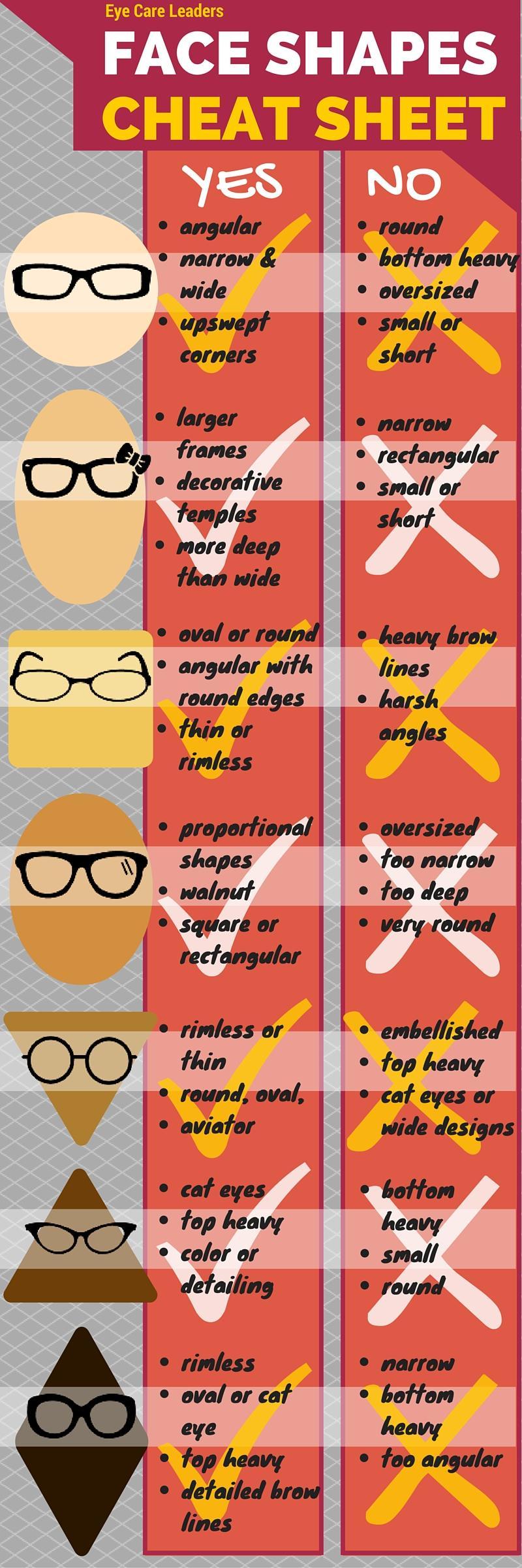 Glasses for Face Shape