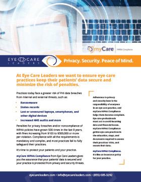 myCare HIPPA Compliance