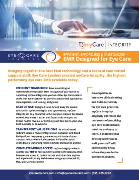 EMR Software for Eye Care